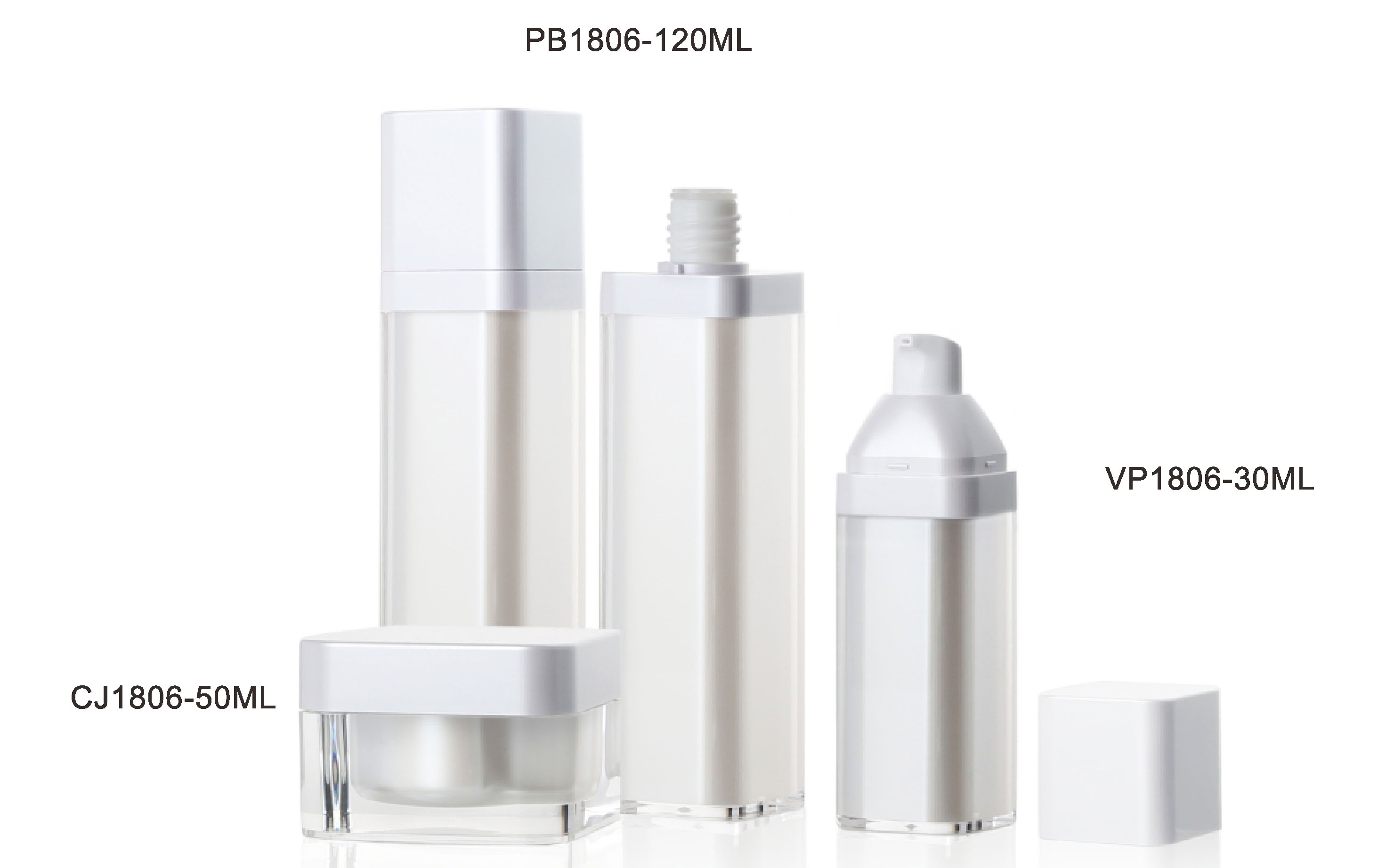 PB1806-120ML VP1806-30ML CJ1806-50ML
