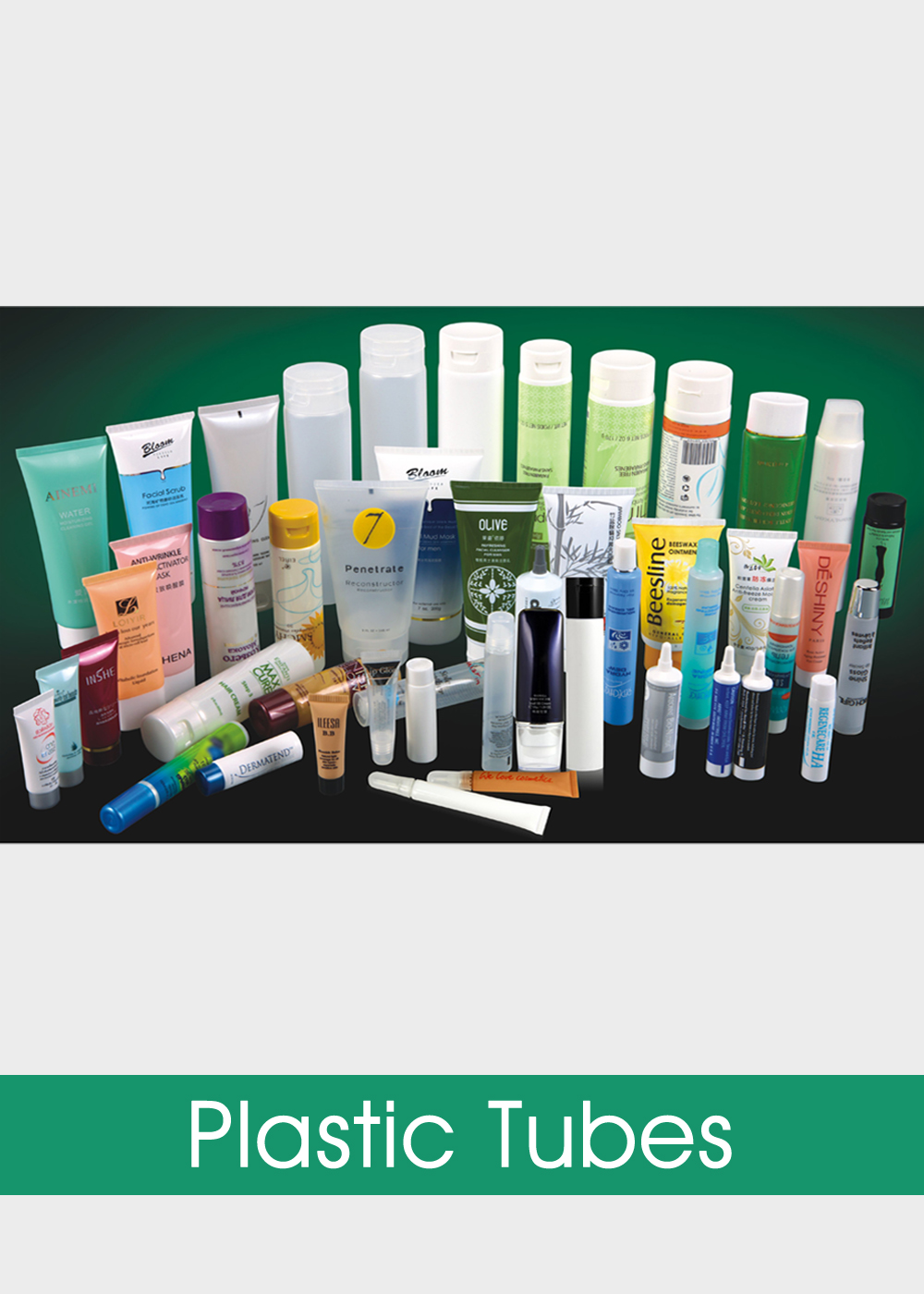360716b8437 Plastic Tube Cosmetic Packaging, Empty Cosmetic Tubes Wholesale,  Supplier-B.I. Packaging